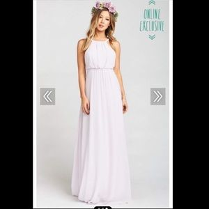Amanda Maxi Dress 🌸 in Lavender Chiffon